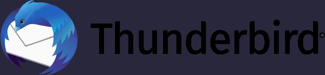 Thunderbird App Logo